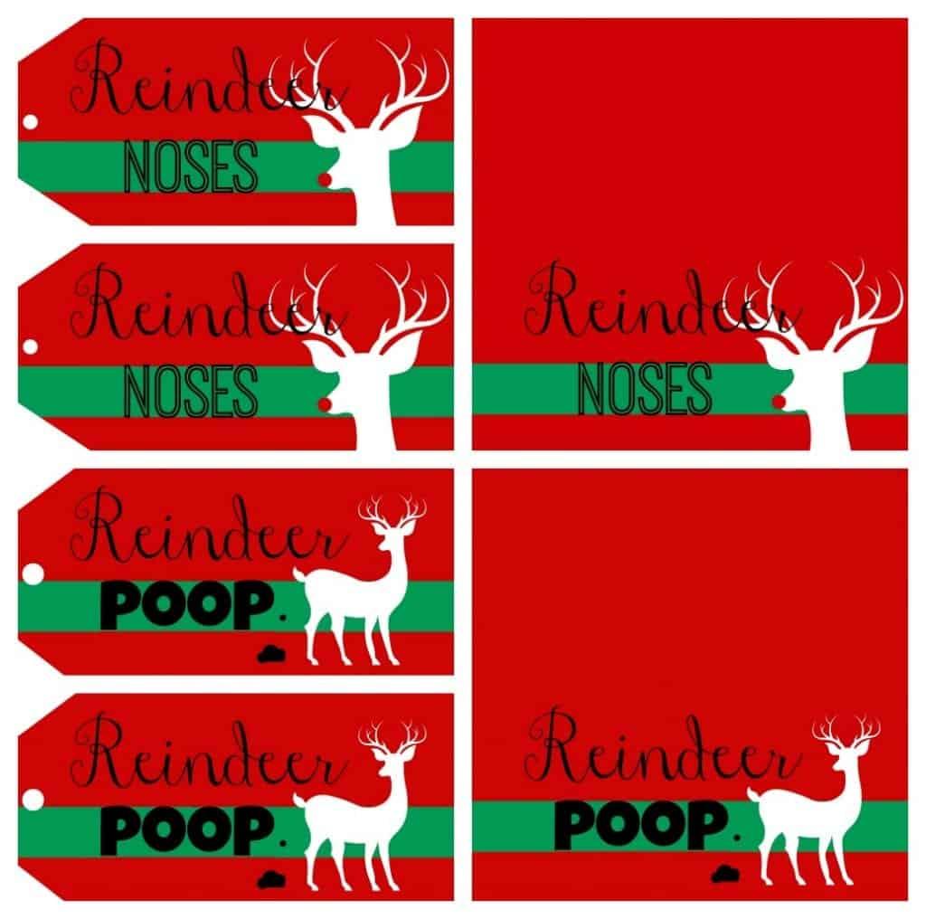 reindeer printabless