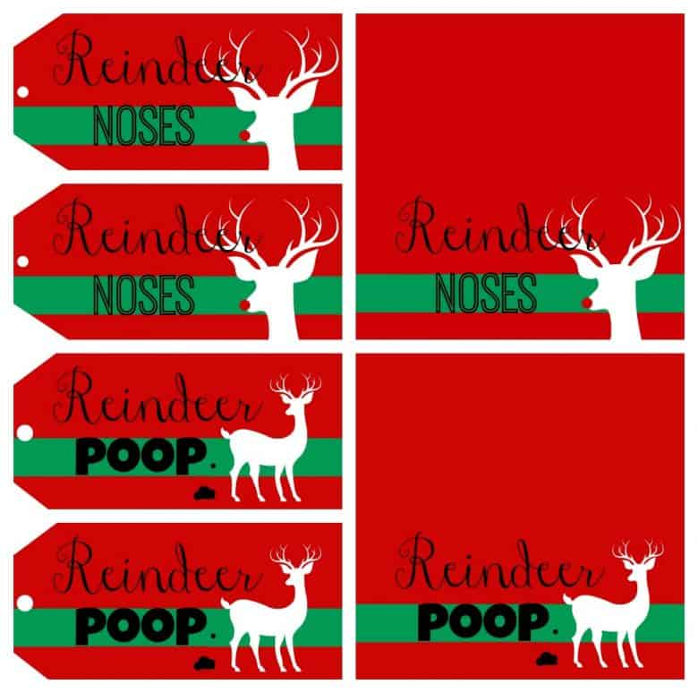 Reindeer Noses And Poop Cause I M Young At Heart