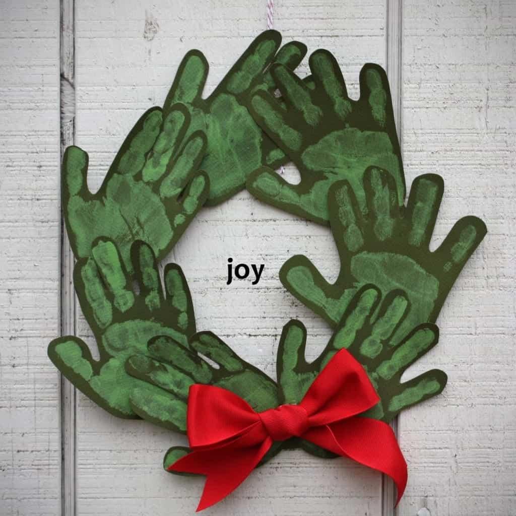syd hand wreath