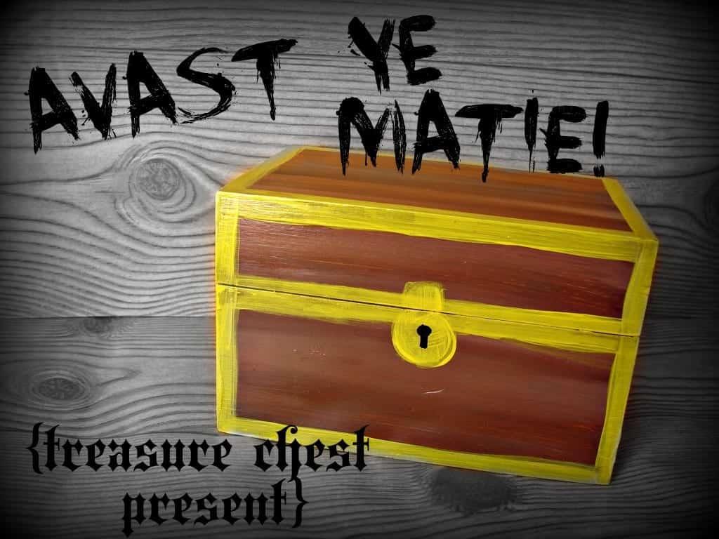 treasure chest present