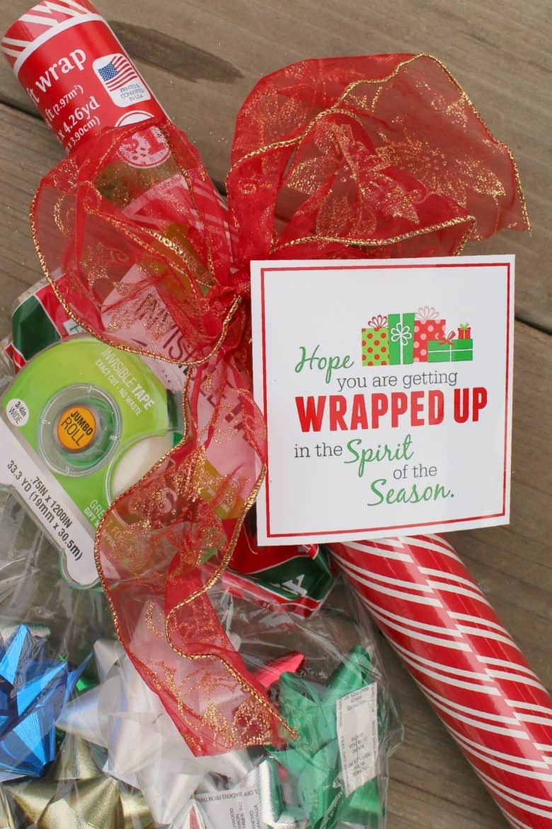 Wrap It Up An Easy And Inexpensive Neighbor Gift A Girl