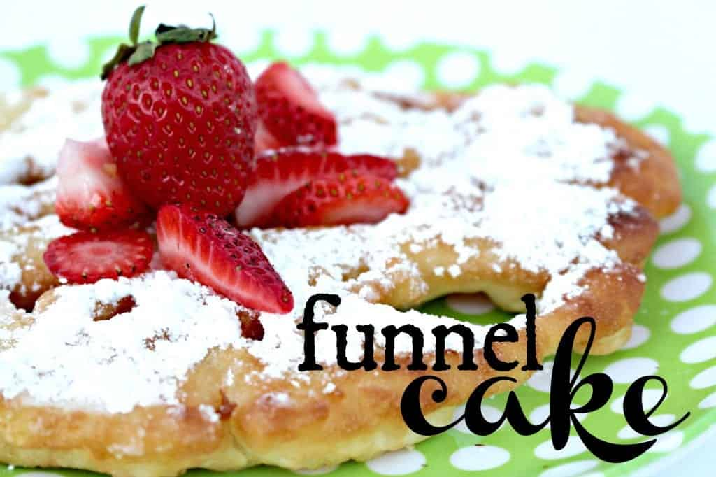 yummy funnel cake