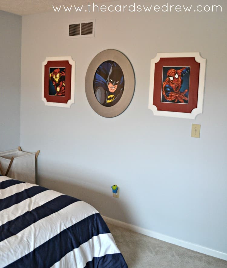 Cut-it-Out-frames-for-boys-bedroom-