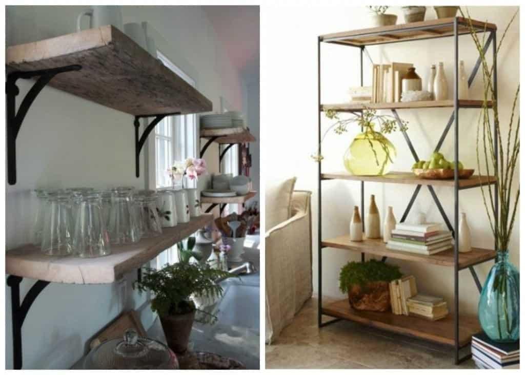 PicMonkey Collage shelves