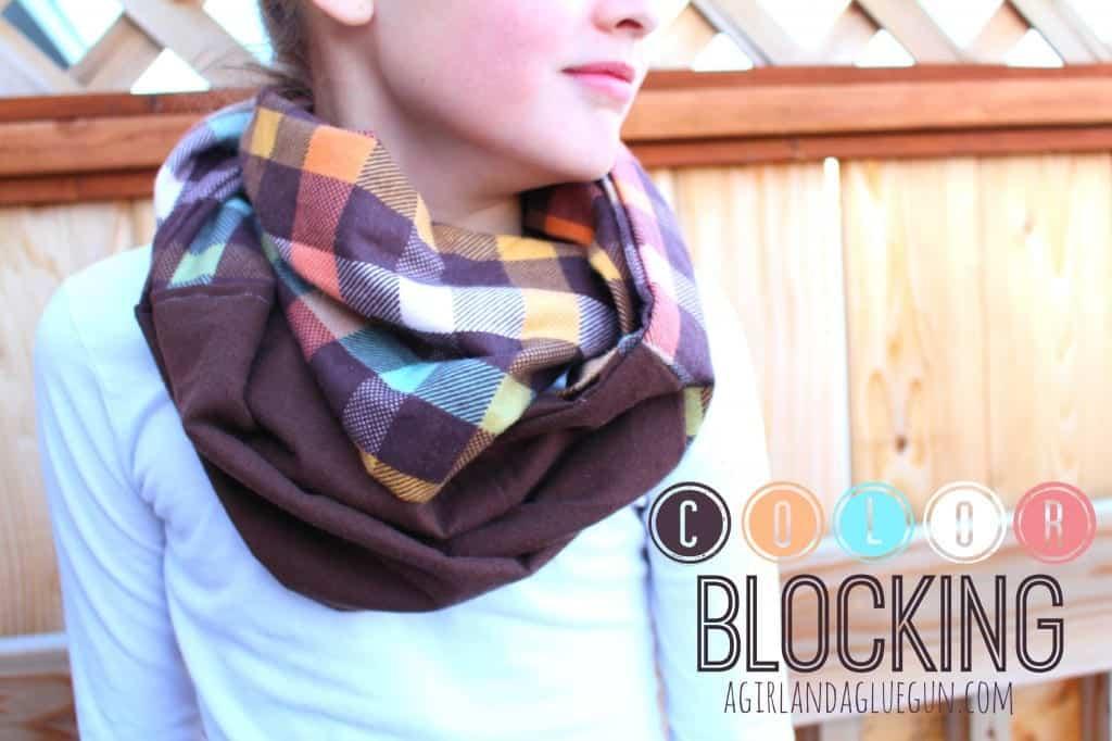 color block scarf--scarf week