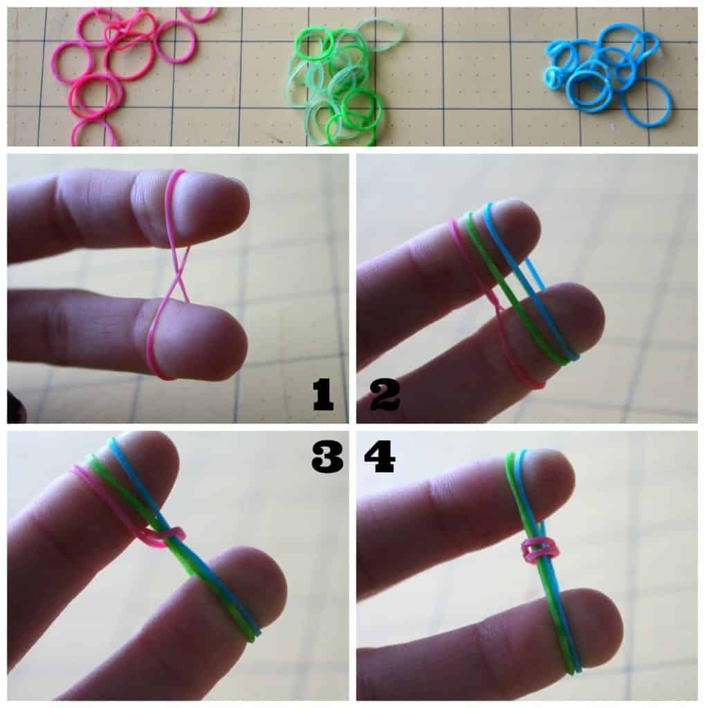rubber band bracelet how to number 1