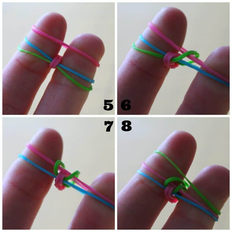 rubber band bracelets without the loom a girl and a