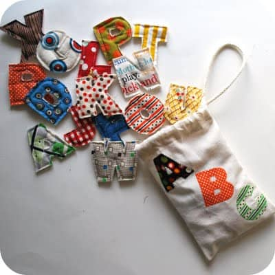Alphabet Magnets1 Spill from Bag2