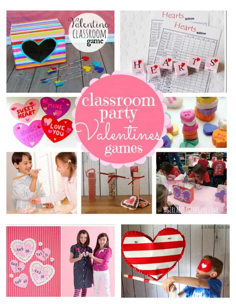 classroom party games for valentines perfect for kids a girl and a glue gun