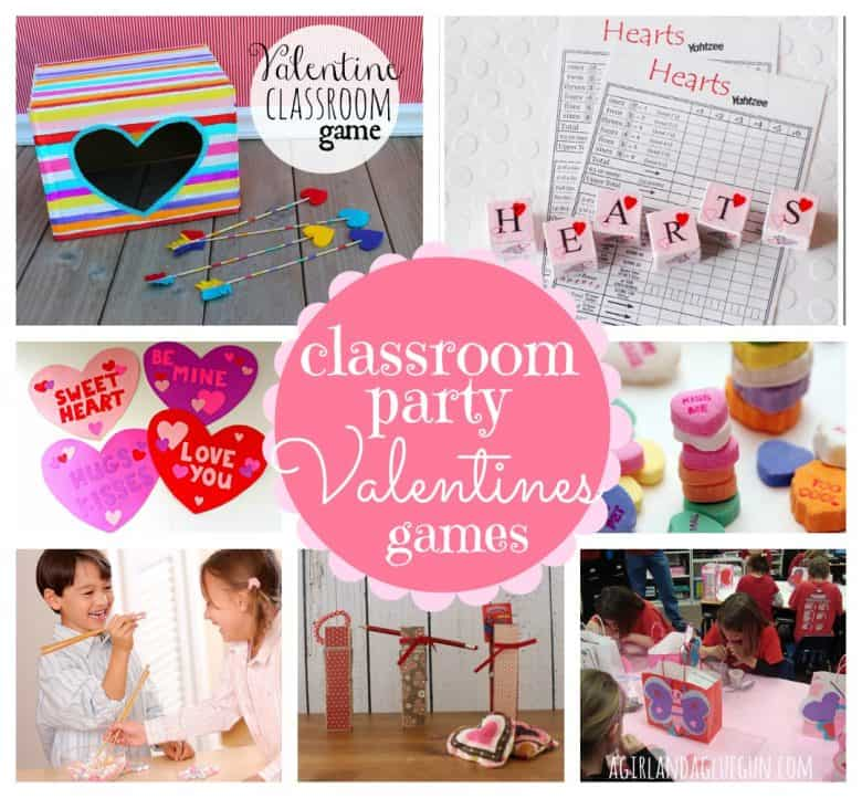 valentines classroom party ideas a girl and a glue gun