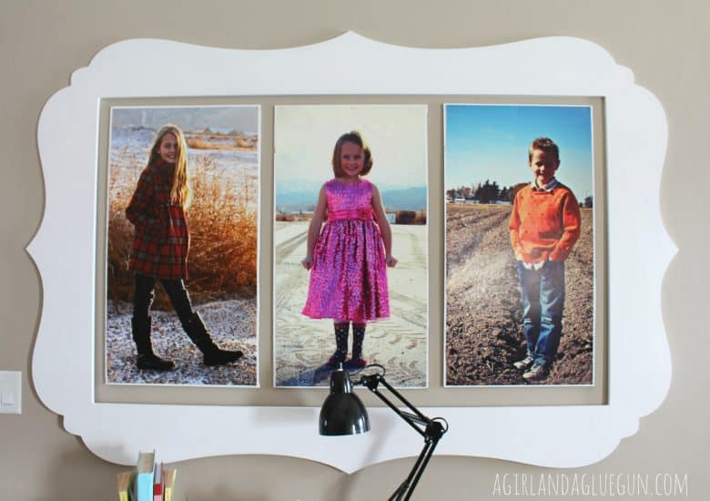 decorating with pictures and cut it out frames!!! - A girl and a ...