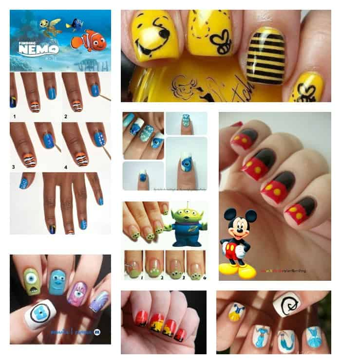disney fingernails