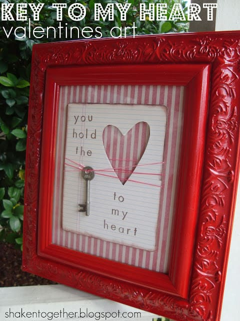 key to my heart valentines art main BLOG