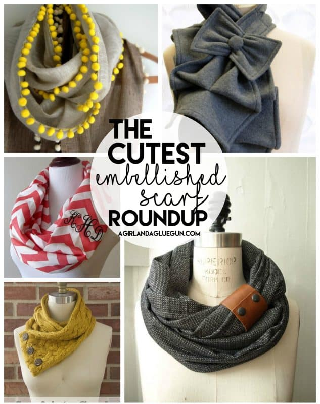 Embellished Scarves Scarf Week Is Stillll Going On A