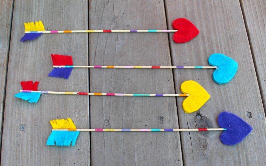 valentine arrows