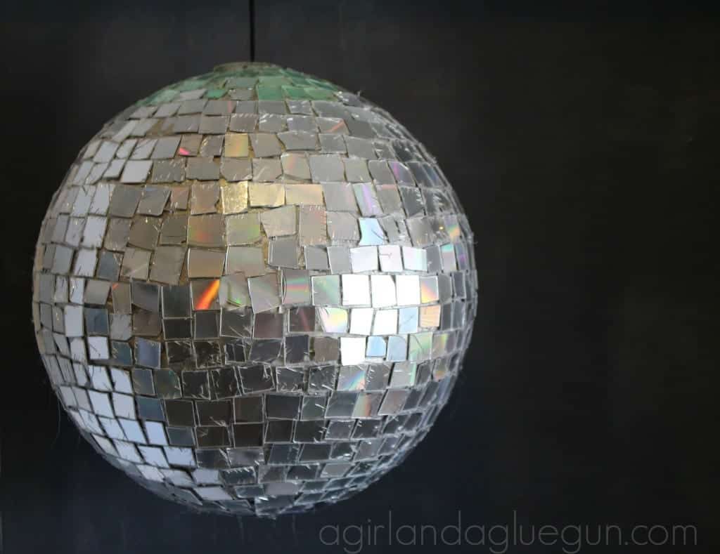 disco ball diy