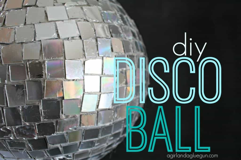 diy disco ball from a girl and a glue gun