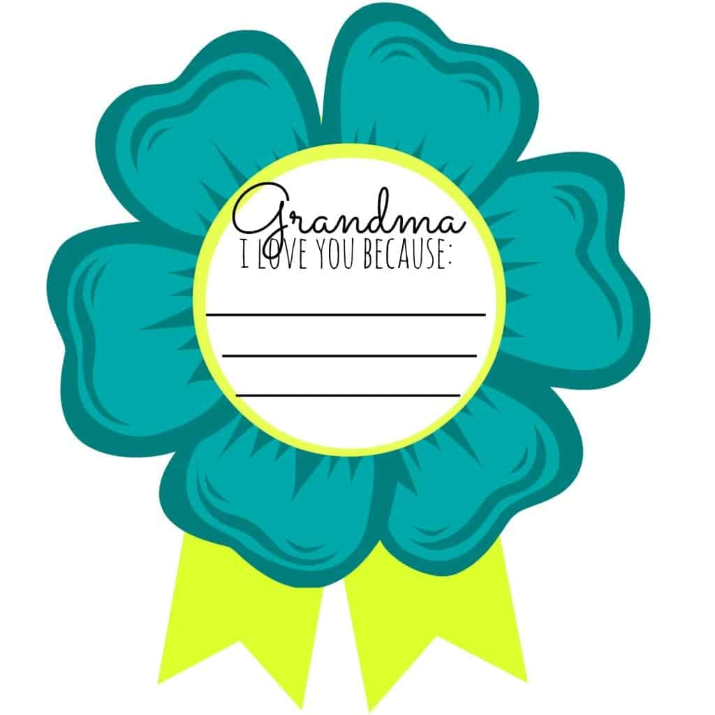 grandma i love you printable