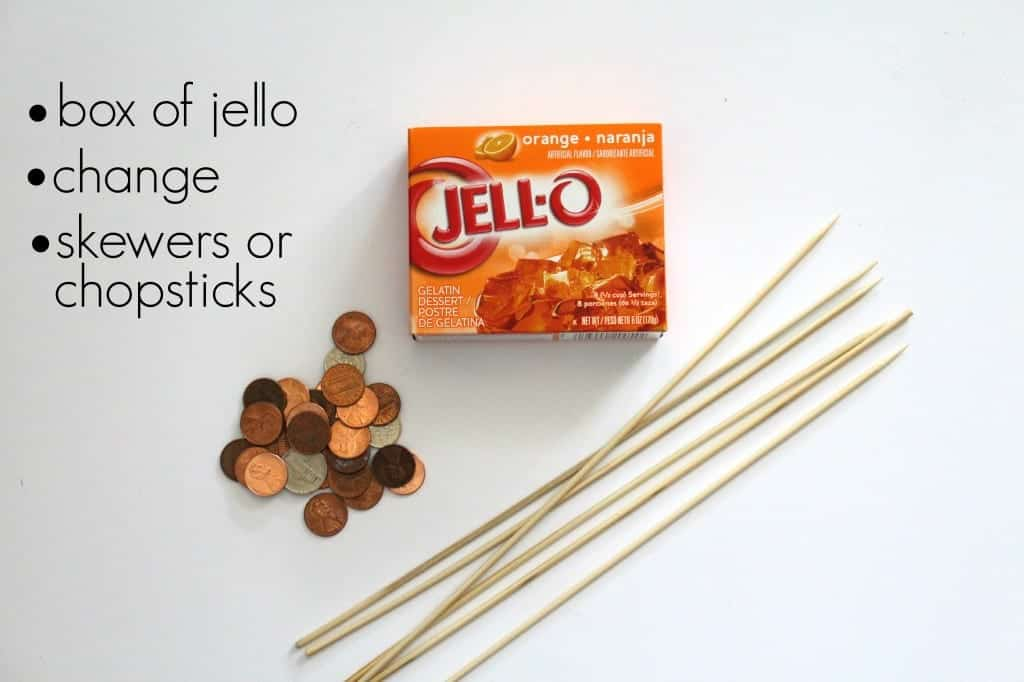 jello dig supplies