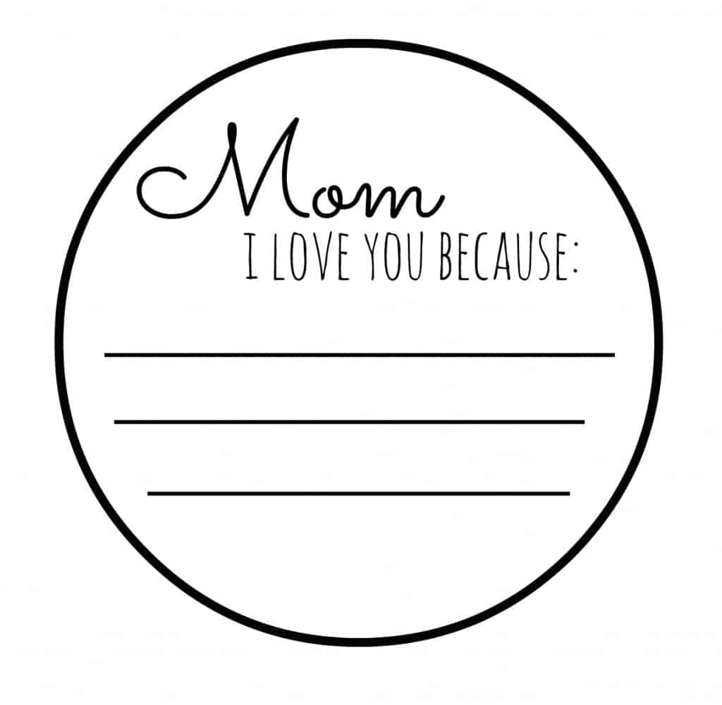 mom badge i love you
