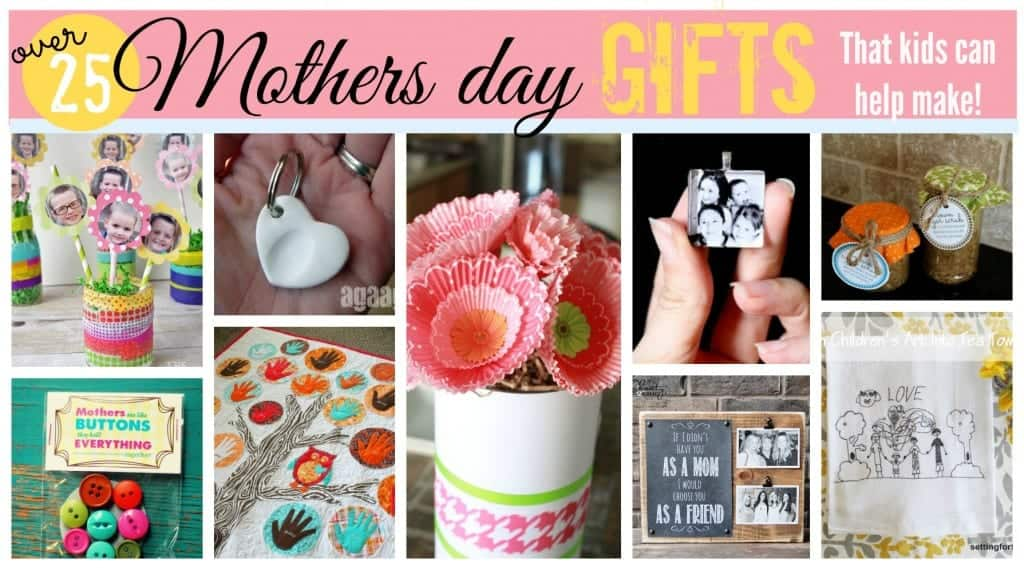 mothers day gift ideas for kids to help make