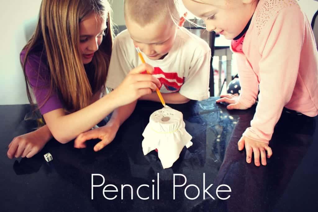 pencil poke