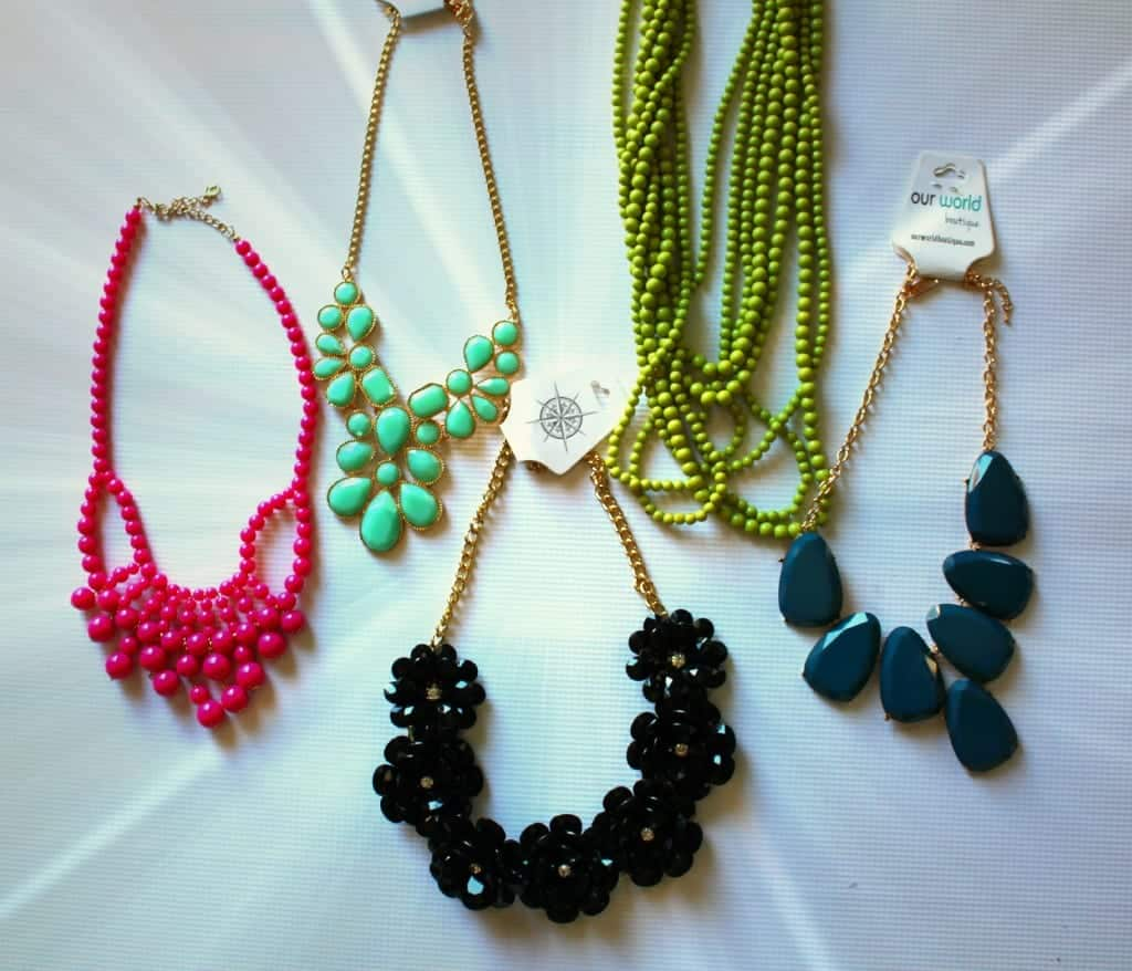 pretty chunky necklaces