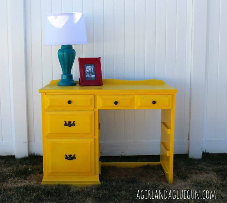 the power of spray paint a girl and a glue gun. Black Bedroom Furniture Sets. Home Design Ideas