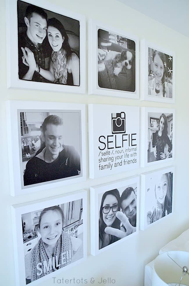 teen-instagram-selfie-wall-at-tatertots-and-jello