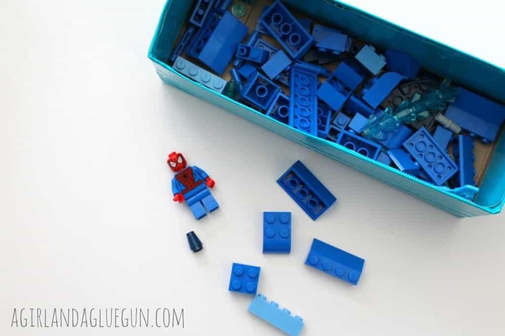 blue lego organization