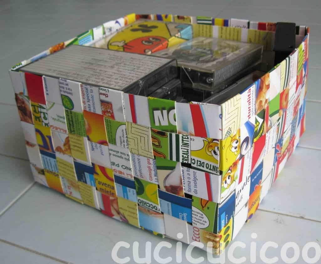cereal-box-basket-with-tapes