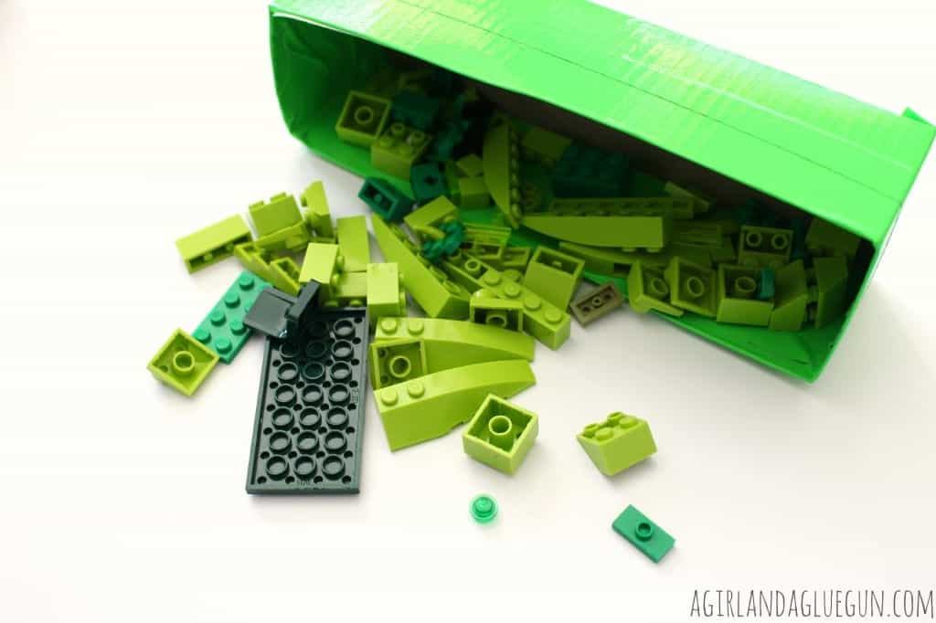 green lego box