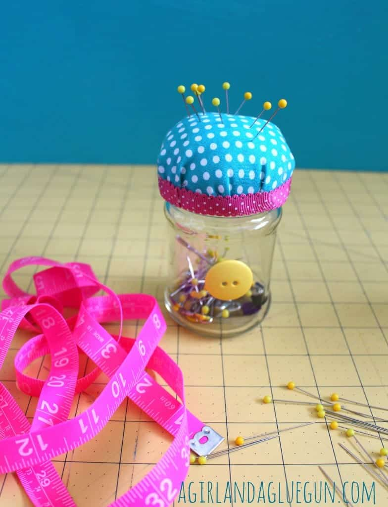 pin cushion jar for kids