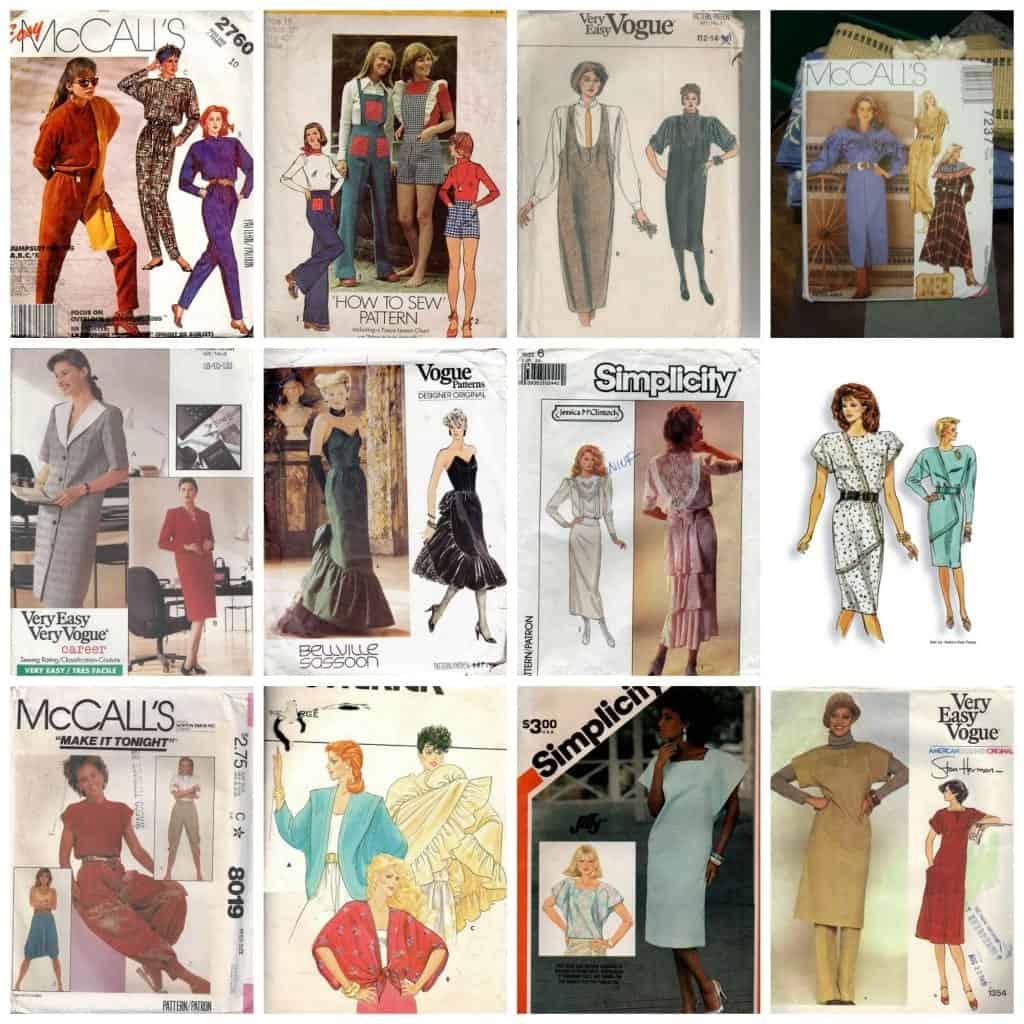 ugly vintage patterns