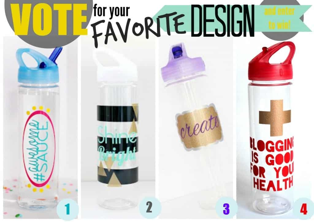 $50 Expressions Vinyl Giveaway + Vote for your Favorite Blogger's Design | #giveaway #vinyl #bloggers