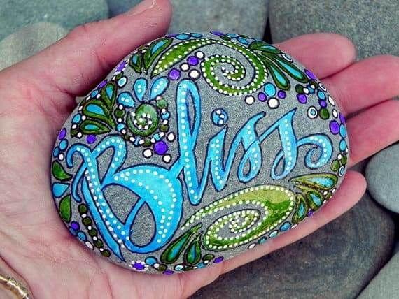 Rock painting summer survival kids crafts a girl and a - Painting rocks for garden what kind of paint ...