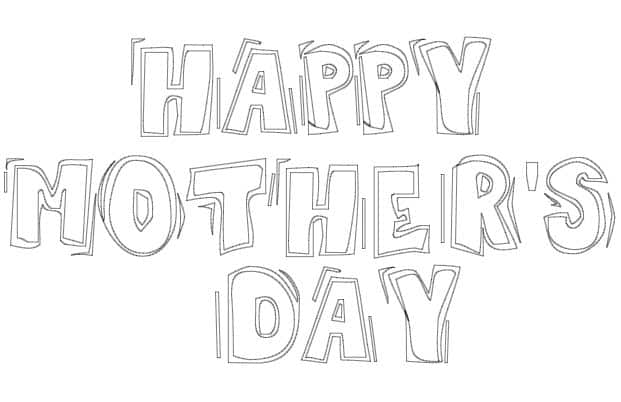 mother u0026 39 s day coloring cards