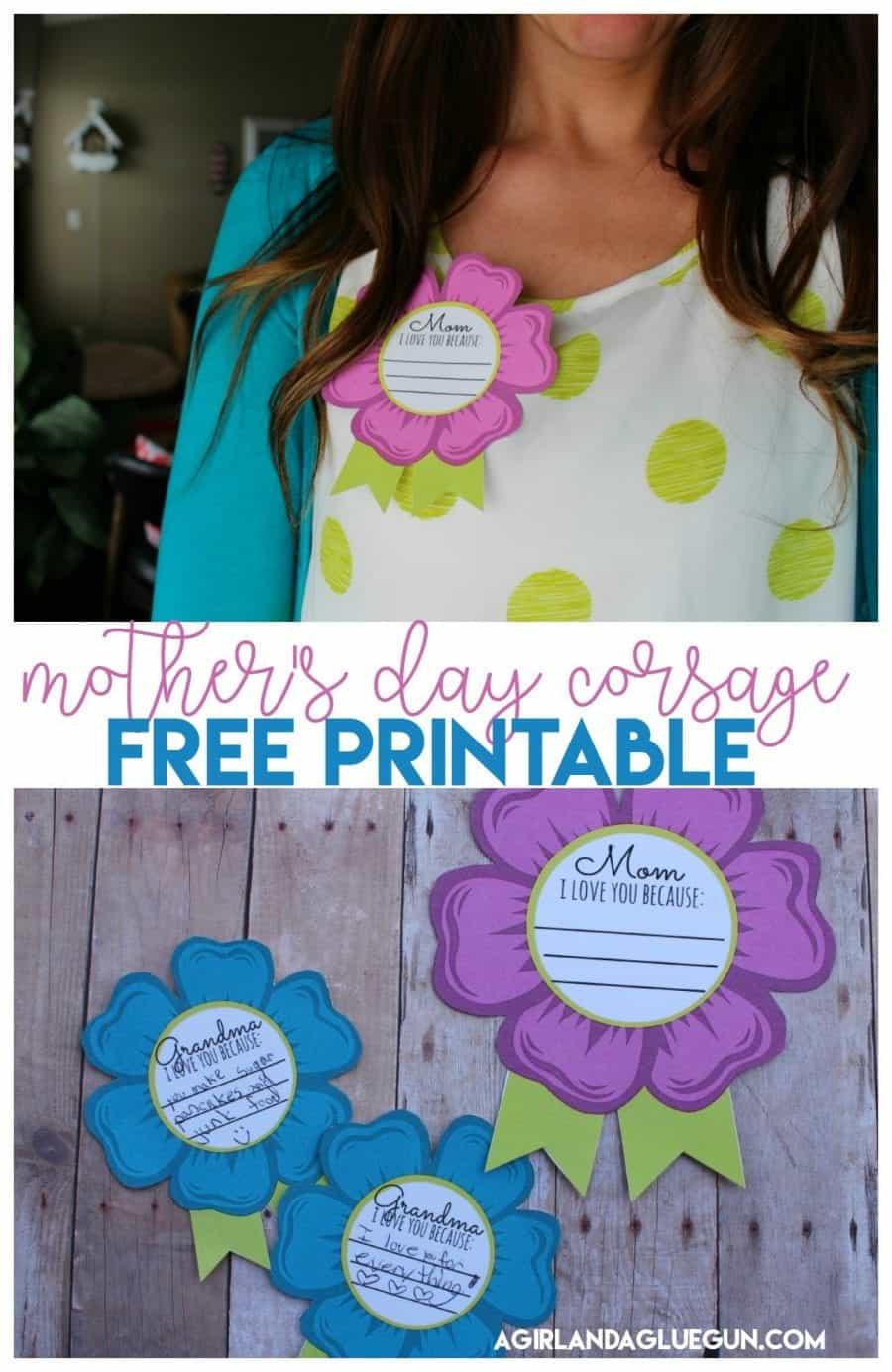 mom and grandma badges free printable a girl and a glue gun