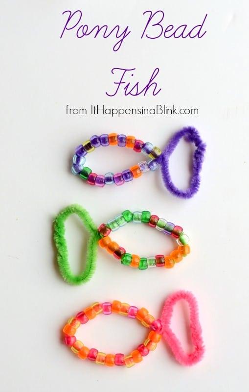 Pony-bead-fish-pinnble