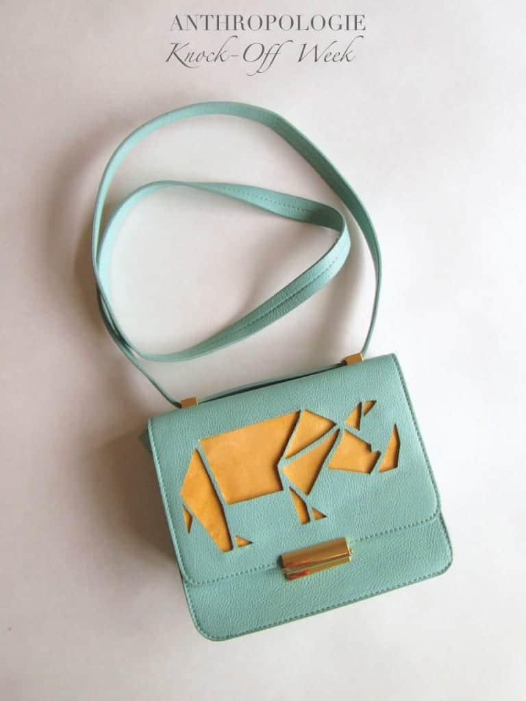 Rhino Cut-out Purse
