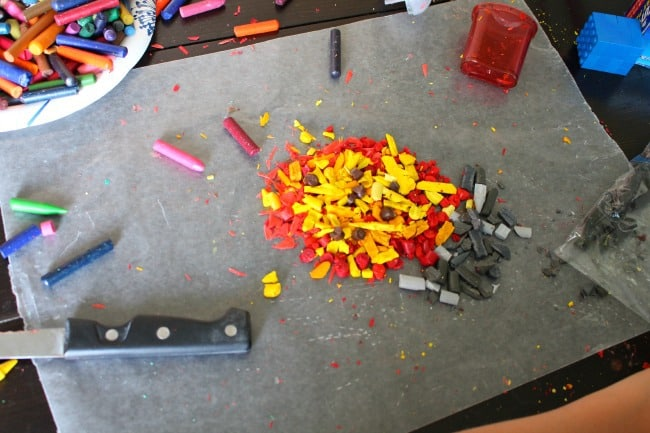 broken crayons craft