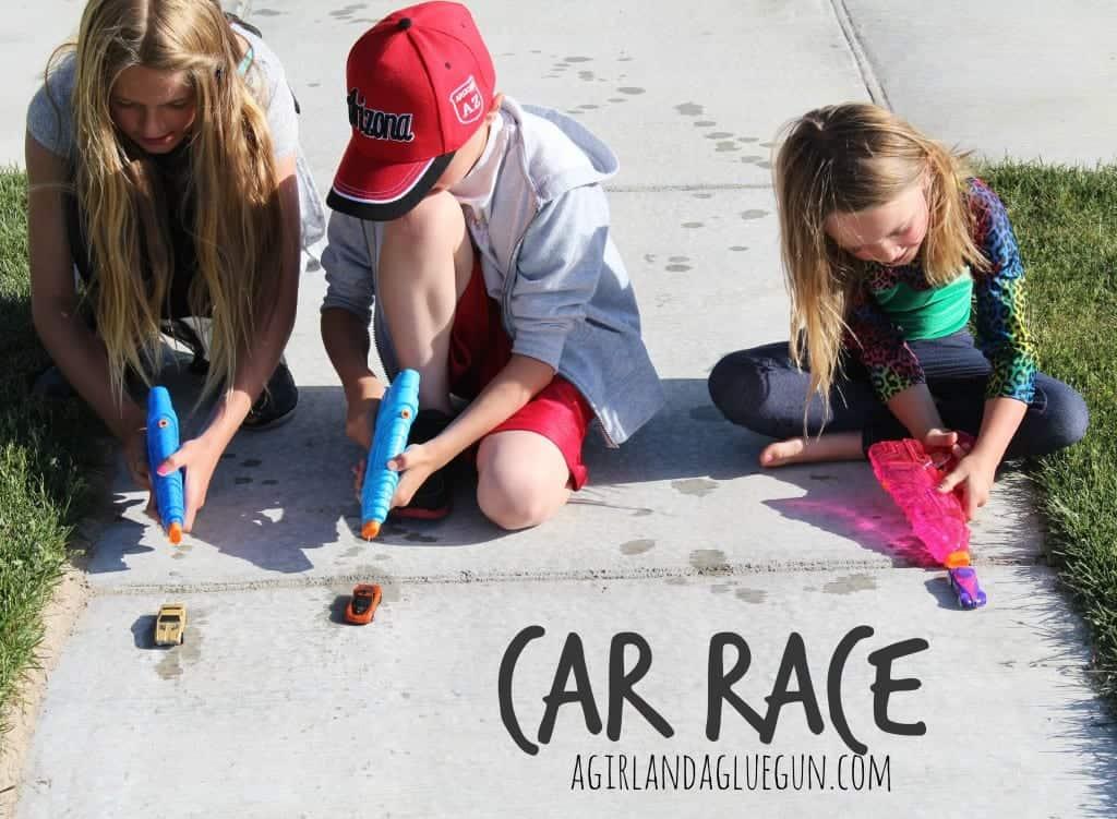 car race summer game for kids