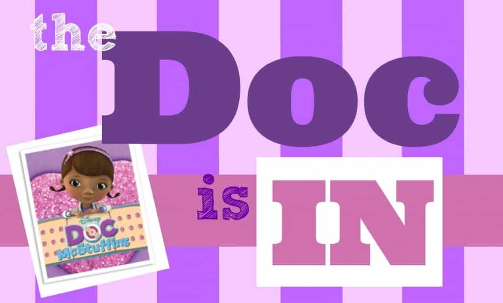 Doc mcstuffins doctor kit a girl and a glue gun doc sign doc pronofoot35fo Image collections
