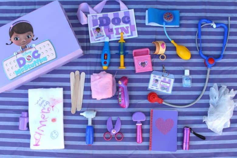 Doc Mcstuffins Doctor Kit A Girl And A Glue Gun