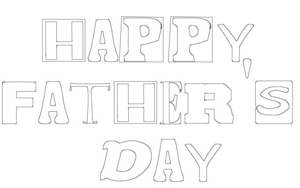 free dad's day printable