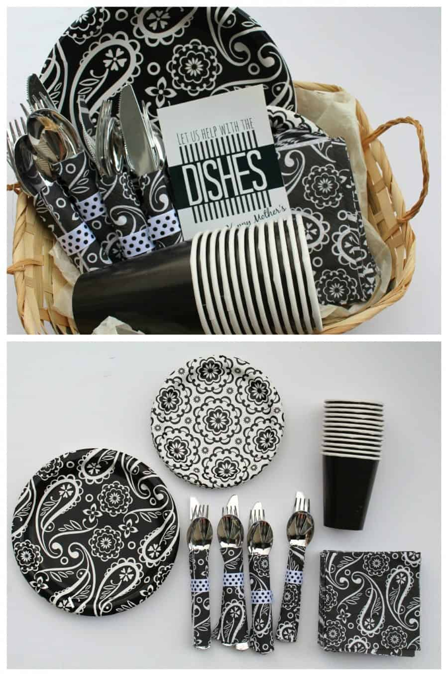 help with dishes gift and printable