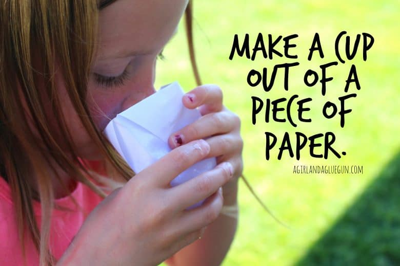 how to make cool things out of paper cups