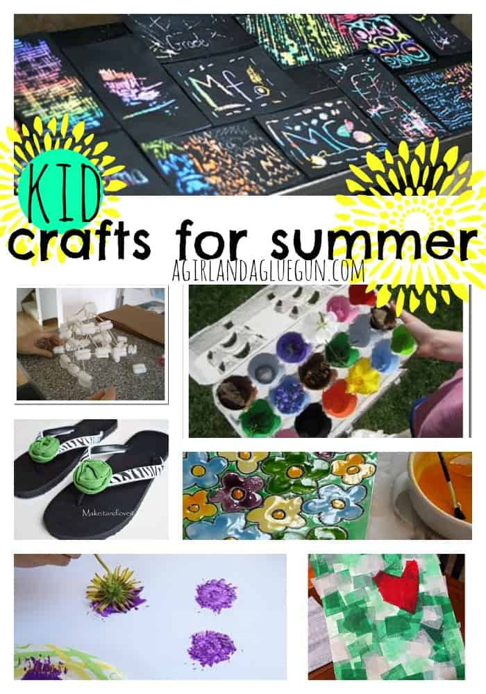kid crafts for summer