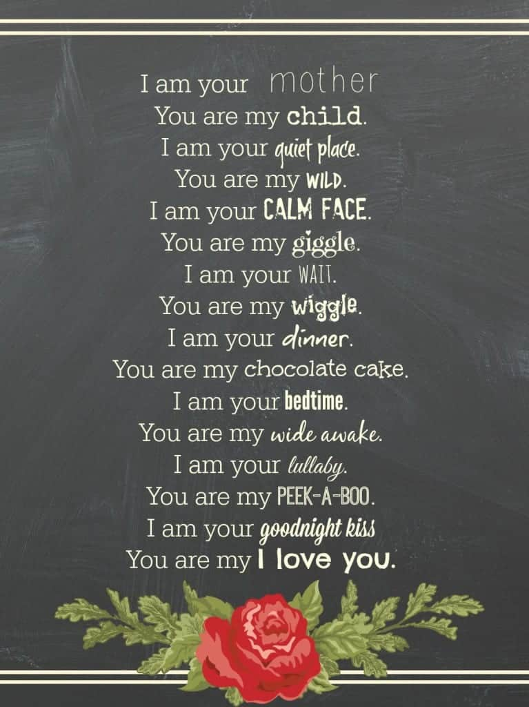 mother's day card quote