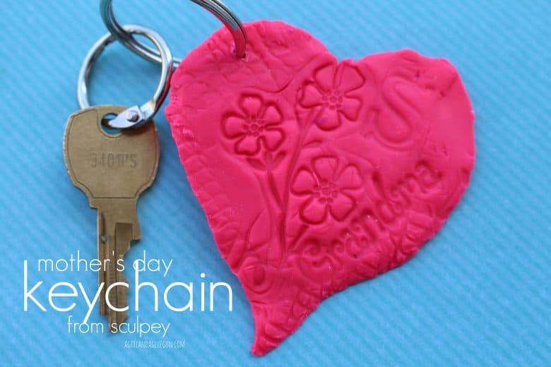 Mothers Day Keychain Craft